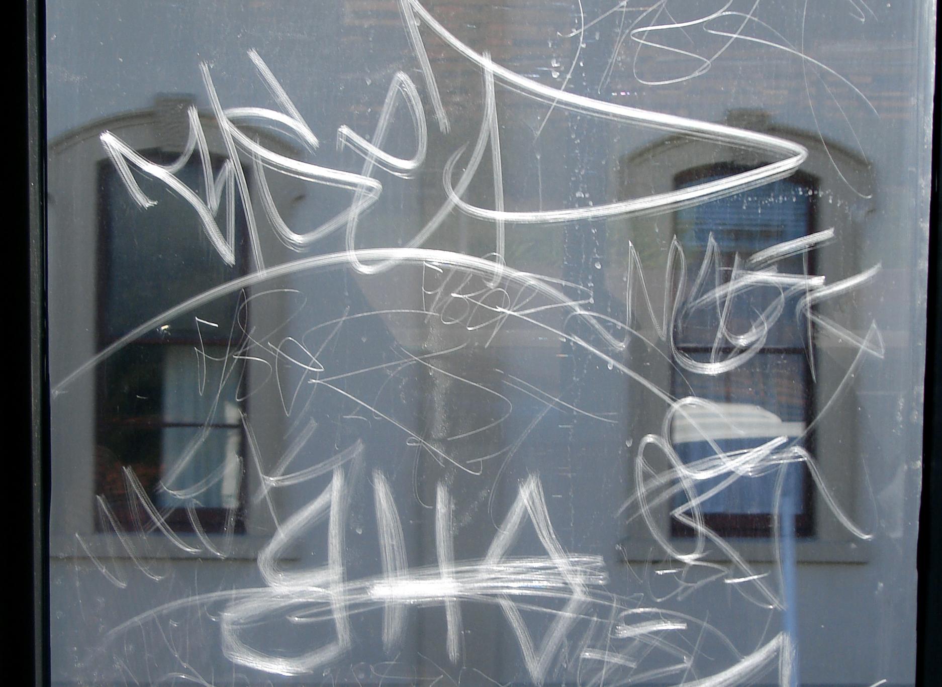 anti-graffiti-window-film-scratches Film in Long Island